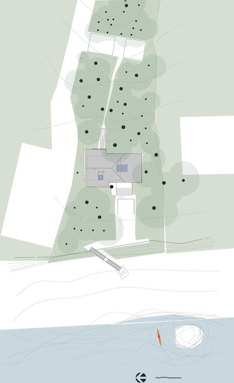 Проект загородного дома Lisa Chun