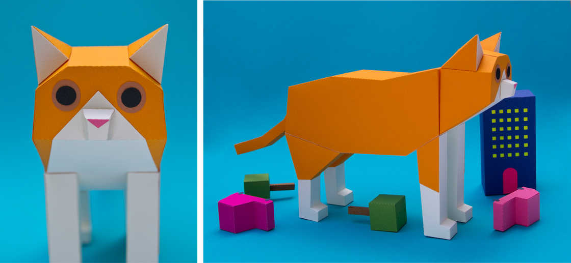 Геометрические животные Guarda Bosques