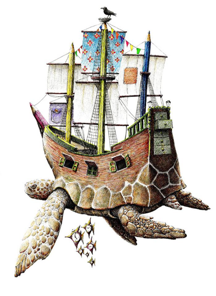 Иллюстрации Redmer Hoekstra