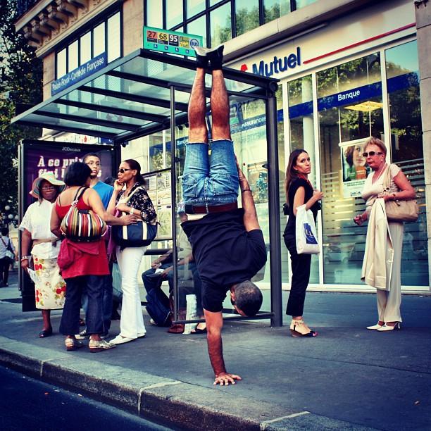 Мир кверх ногами в фотографиях брейкдансера Kapstand