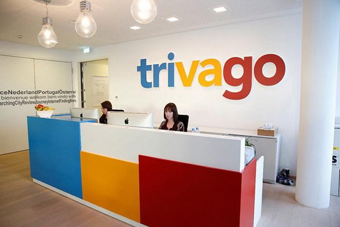 Необычный офис компании Trivago