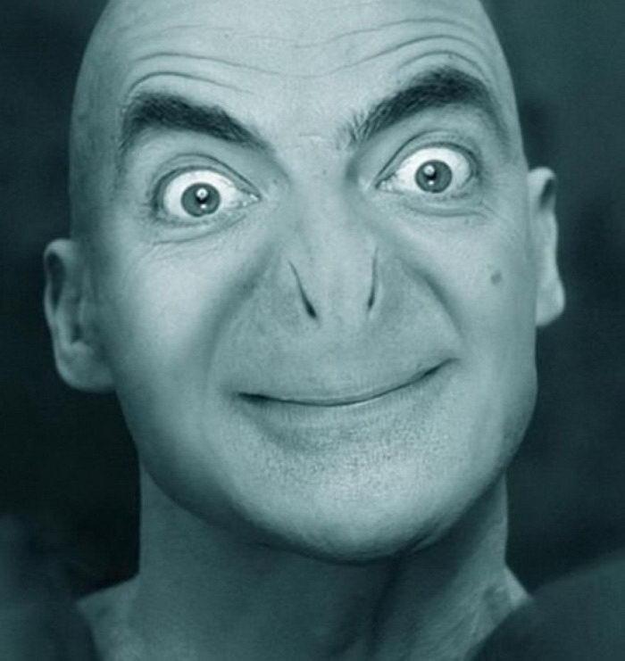 20 фотографий с прифотошопленным лицом мистера Бина