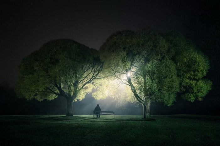 Ночные фотографии Mikko Lagerstedt