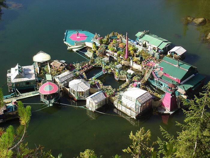 Город на воде, построенный парой канадцев