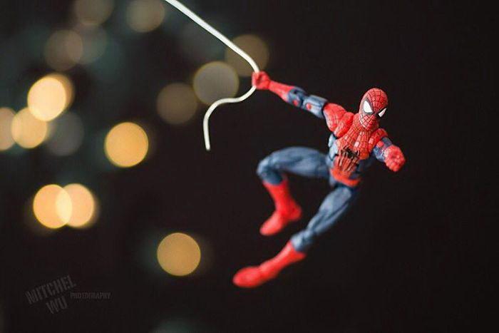 Супергерои и моменты их жизни
