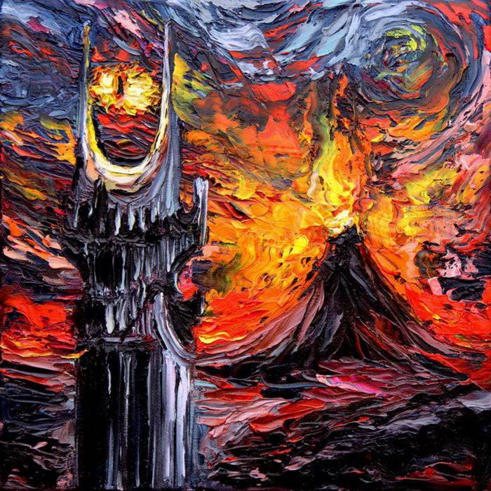 Ван Гог и мультгерои: проект Aja Kusick