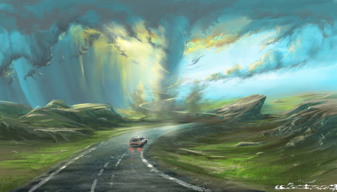 Пейзажи Александра Роммеля