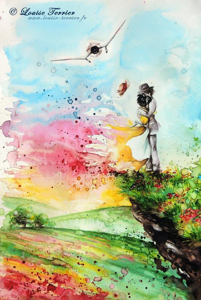 Фантазийные рисунки Louise Terrier