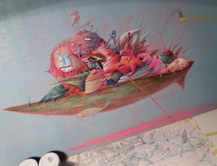 Яркие иллюстрации Vorja Sanchez
