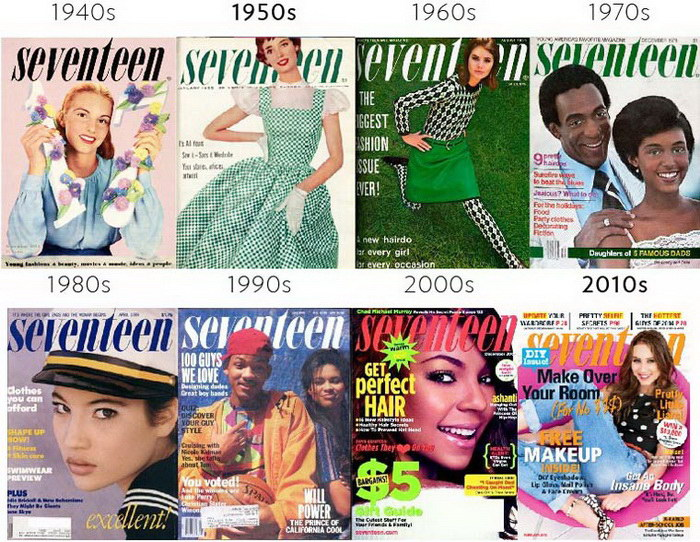 Эволюция обложек журналов: проект Karen X. Cheng и Jerry Gabra