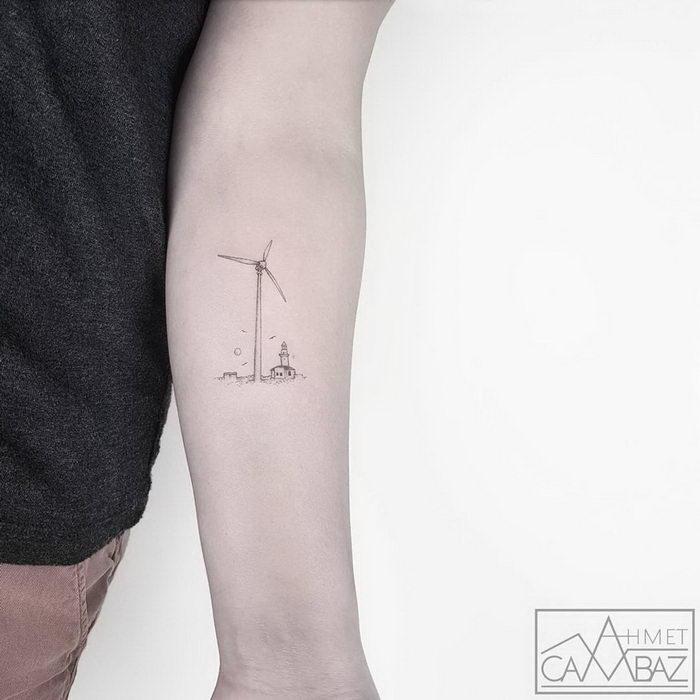 Маленькие татуировки Ahmet Cambaz