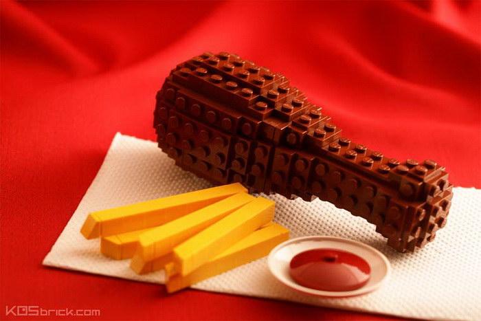 Lego-творения Kosmas Santosa