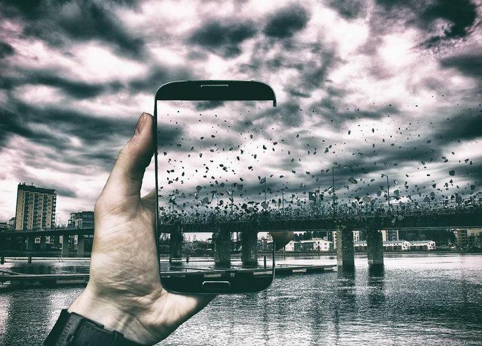 Из смартфона вовне: снимки Asmo Turunen
