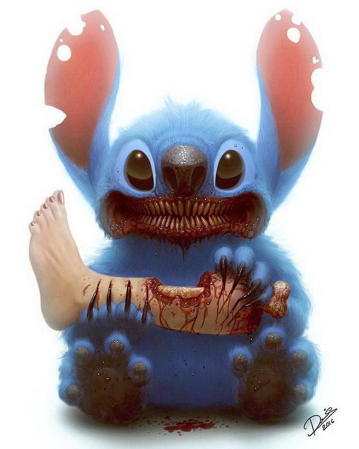Очень страшные зомби-мультгерои Dennis Carlsson