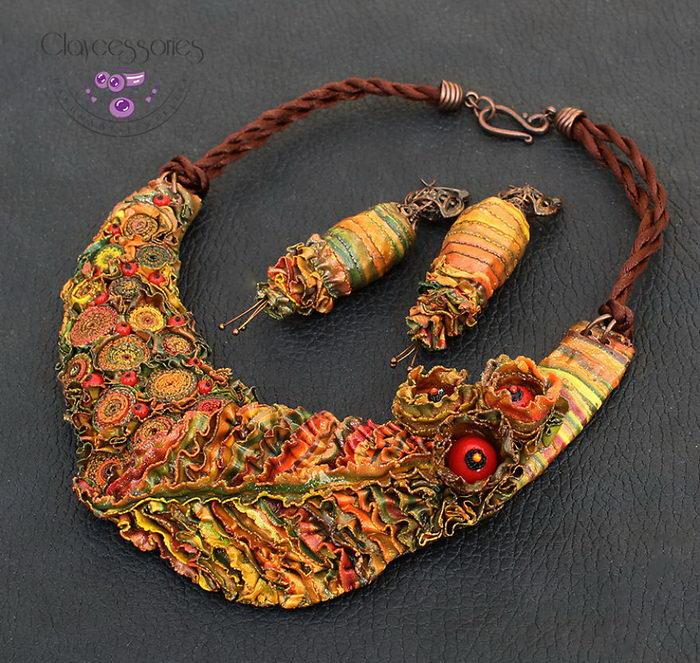 Яркие осенние украшения Janna Baranovska