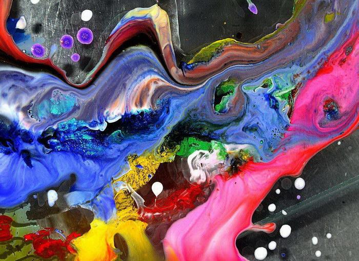 Абстрактные макро-фотографии Cliff Briggie
