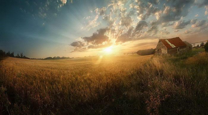 Пейзажные фотографии Andrew Brooks