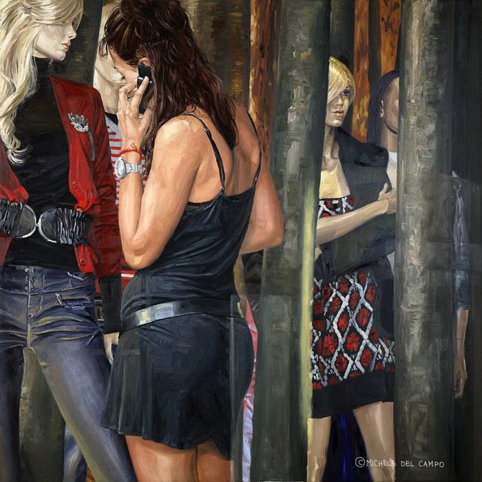 Современный мир глазами Michele Del Campo