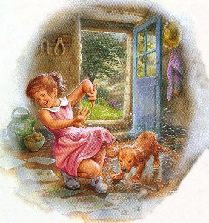 Детские иллюстрации Marcel Marlier