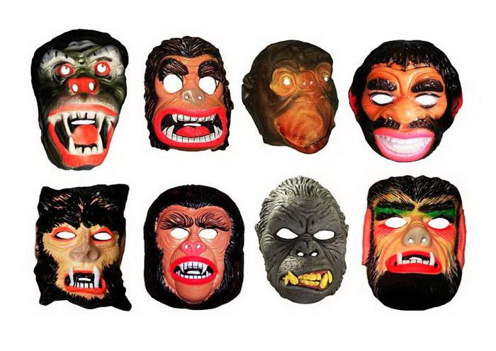Винтажные маски на Хэллоуин: фотографии Brecht Bug