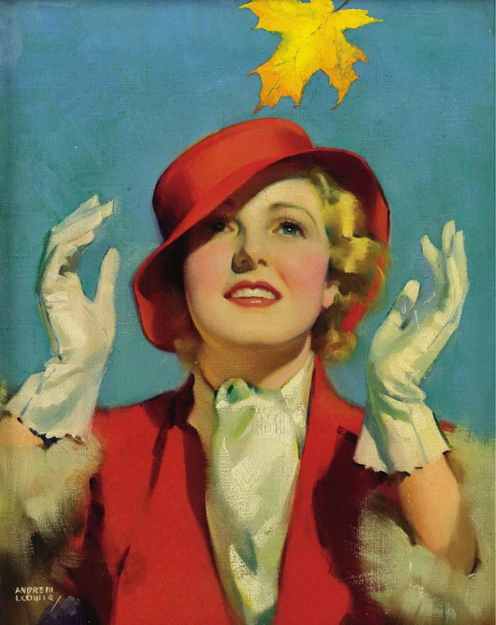 Классика XX века: художник Andrew Loomis