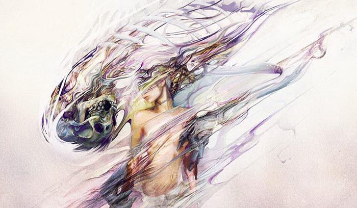 Странные картины Ryohei Hase