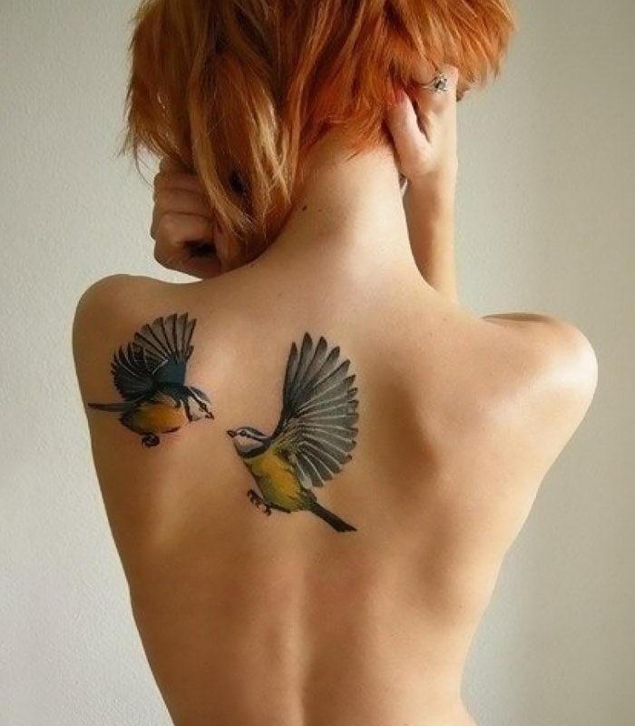 20 красивых птичьих тату для вдохновения