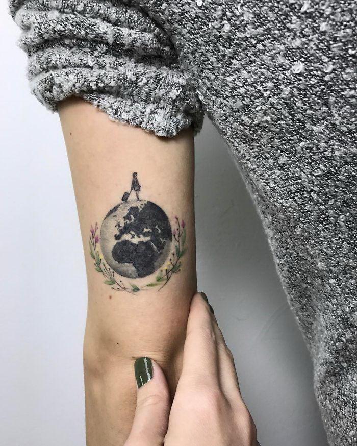 30 классных татуировок путешественников