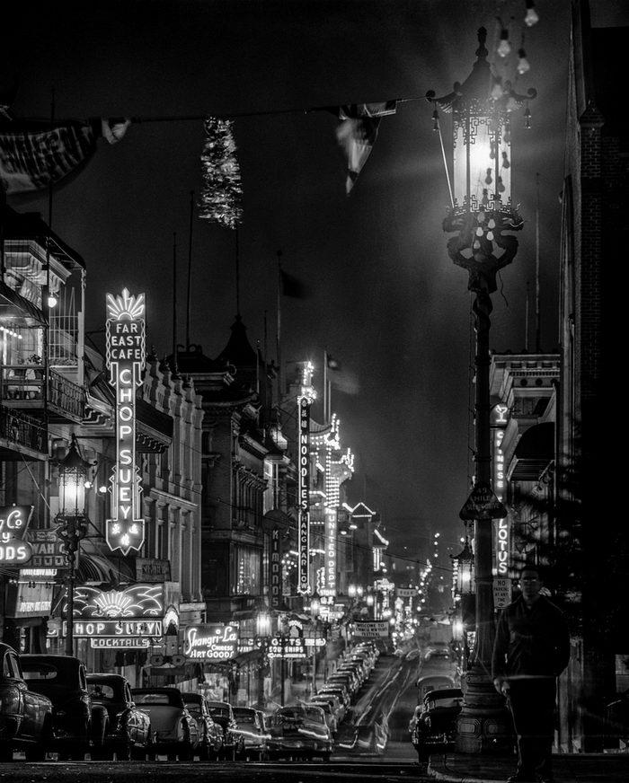 Сан-Франциско середины XX века в снимках Fred Lyon