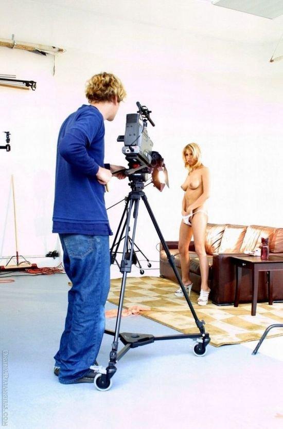 За гранью обьектива эротических фотосессий