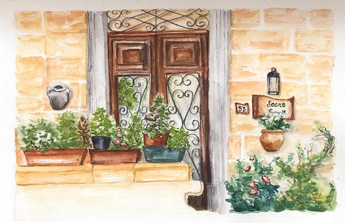 Рисунки Мальты Ekaterina Mango