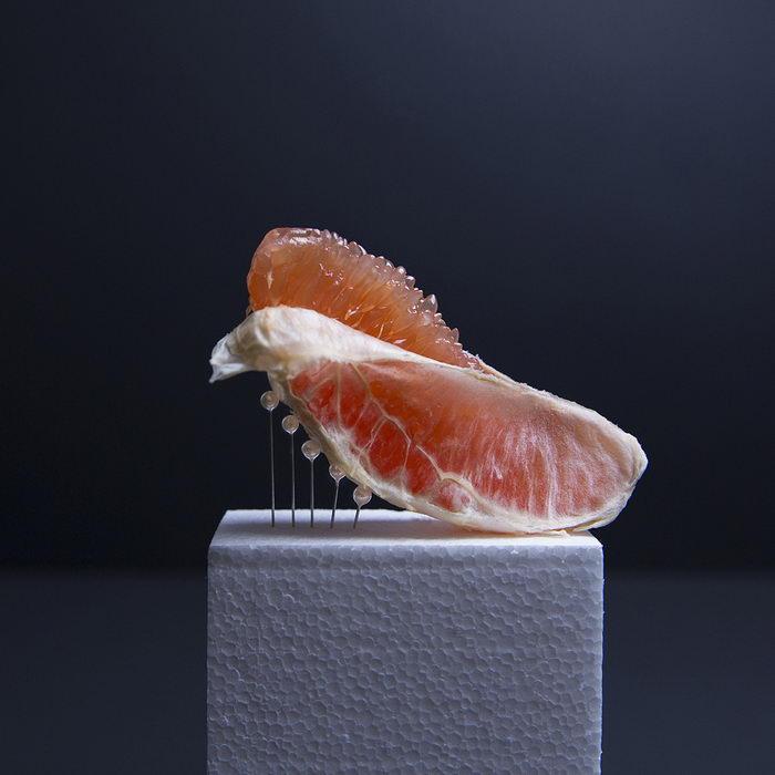 Запретная еда: фотопроект Ana Straze