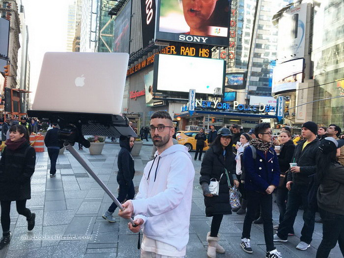 Ноутбук-селфи: тренд последних месяцев