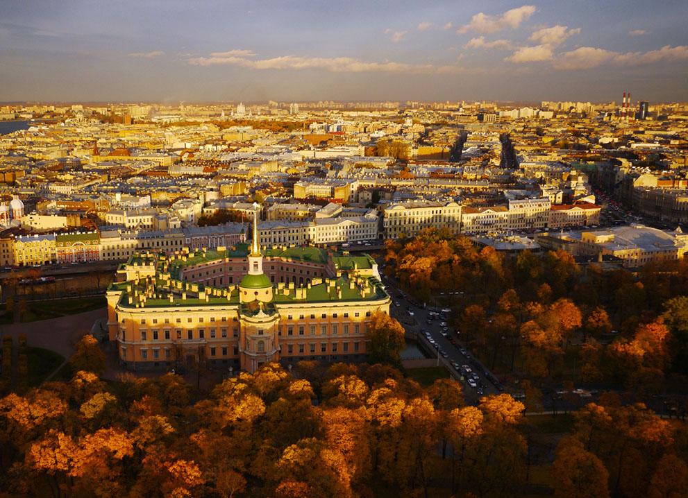 Санкт-Петербург в фотографиях Amos Chapple