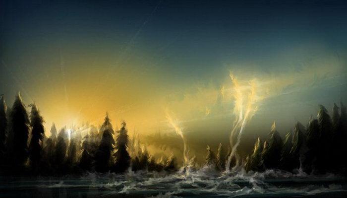 Цифровые картины Alex R (aerroscape)