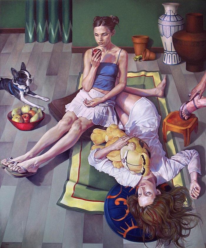 Интересные картины Fran Recacha