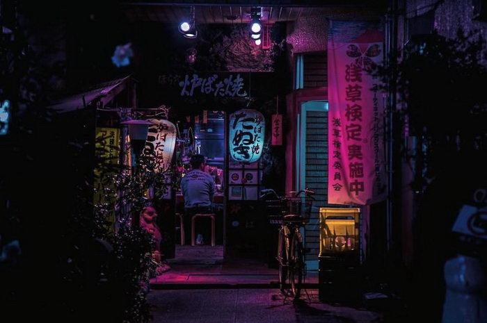 Ночной Токио в фотографиях Liam Wong