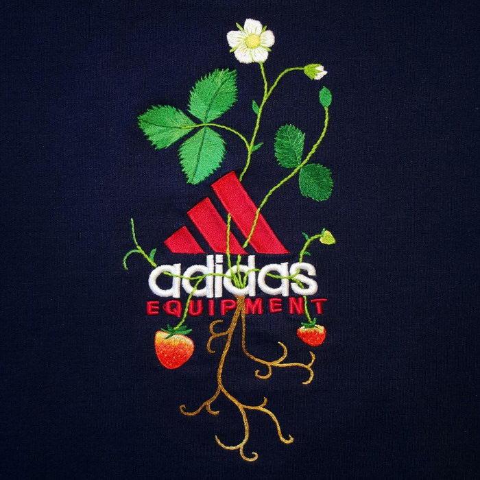 Новый взгляд на логотипы Adidas и Nike James Merry
