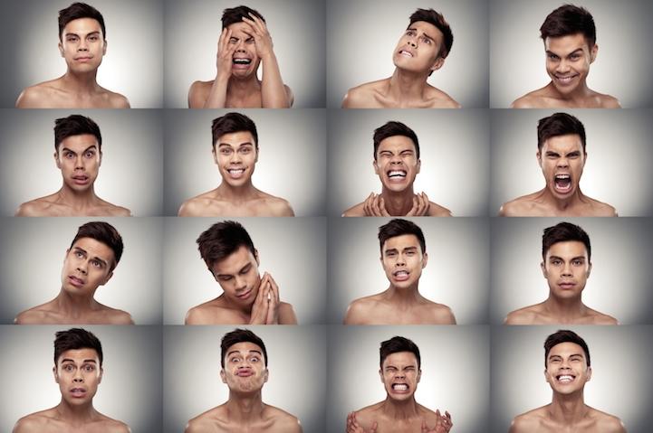 16 эмоций