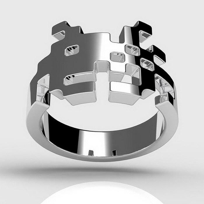 Креативные обручальные и помолвочные кольца