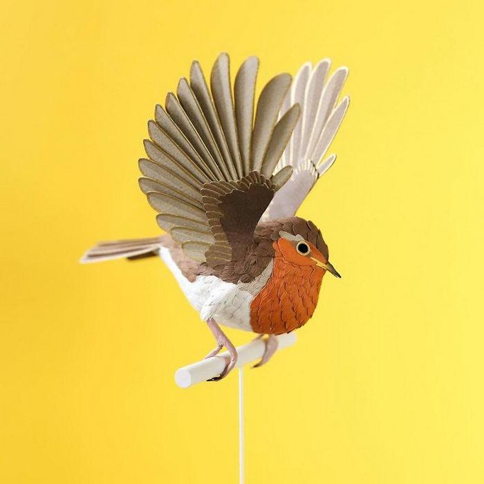 Бумажные птицы Diana Beltran Herrera