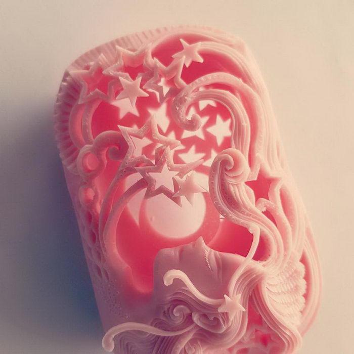 Резьба по мылу художника Narong