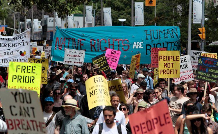 Беспорядки во время саммита G20 в Торонто