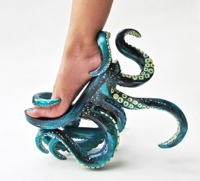 Дизайнер обуви Kermit Tesoro и его яркие туфли