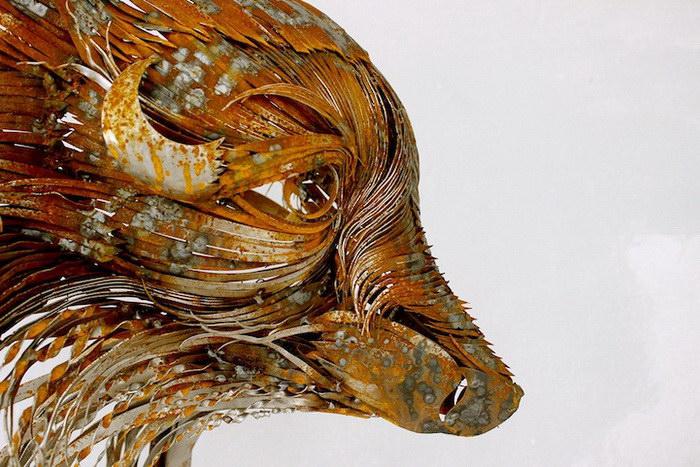 Металлические скульптуры Sel?uk Y?lmaz