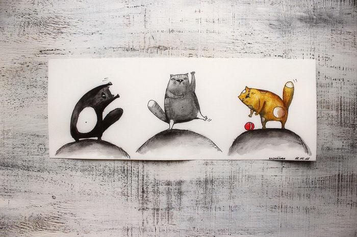 365 рисунков в год: проект Elena Kryuchkova