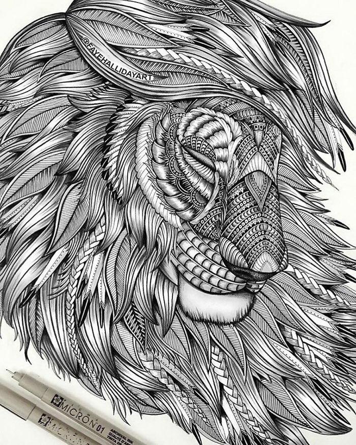 Рисунки животных Faye Halliday