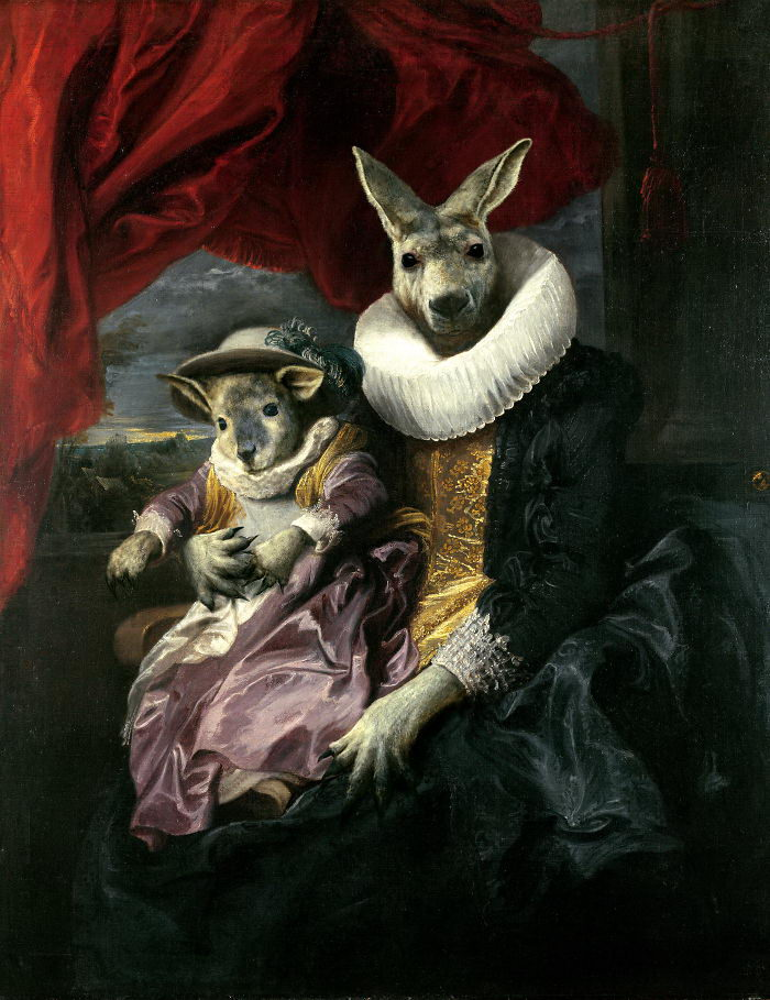 Животные-короли: картины Markus Pilgrim