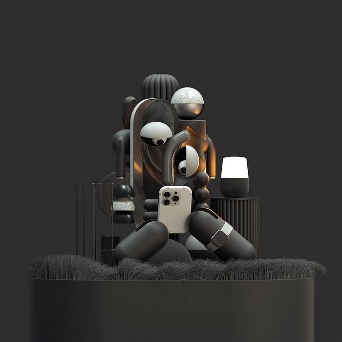 Цифровые коллажи Omar Aqil