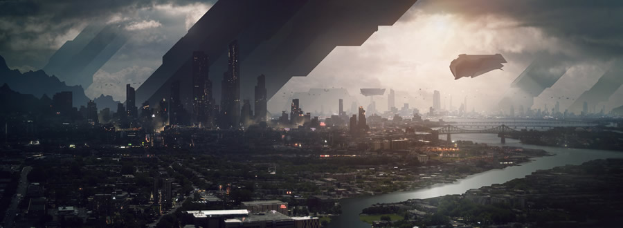 Города будущего: подборка фантазий художников